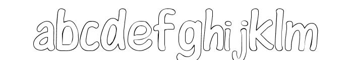 ColorFont Font LOWERCASE