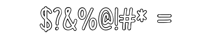 ColorTime Font OTHER CHARS