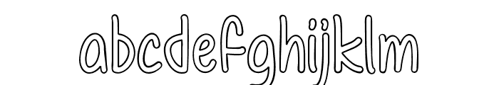 ColorTime Font LOWERCASE
