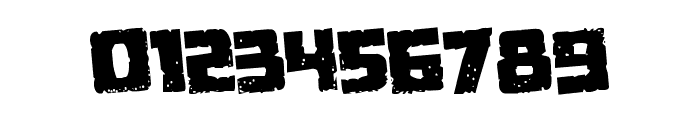Colossus Rotated Regular Font OTHER CHARS