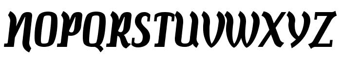 Colourbars-Bold Font UPPERCASE