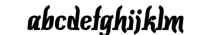 Colourbars-Bold Font LOWERCASE