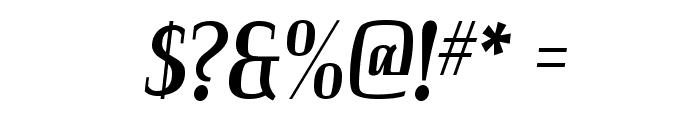 Colourbars-Regular Font OTHER CHARS