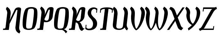 Colourbars-Regular Font UPPERCASE