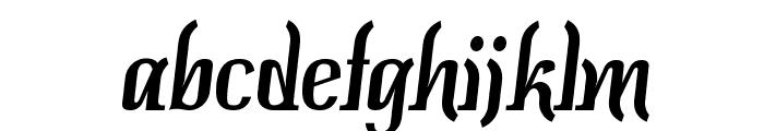Colourbars-Regular Font LOWERCASE