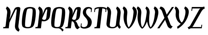 Colourbars Font UPPERCASE
