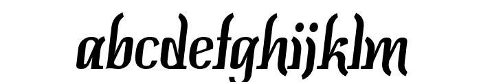 Colourbars Font LOWERCASE