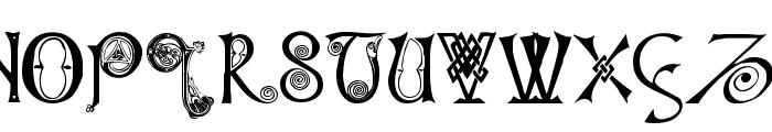 Columba Font UPPERCASE