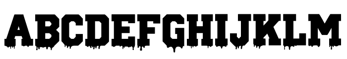Columbine Font UPPERCASE