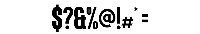Coluna-CondensedBold Font OTHER CHARS