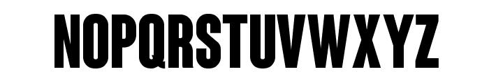 Coluna-CondensedBold Font LOWERCASE