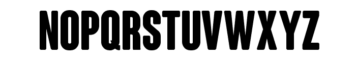 ColunaRounded-CondensedBold Font UPPERCASE