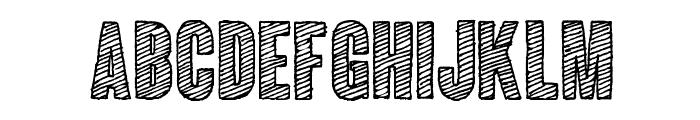 ColunaSketch-CondensedBold Font UPPERCASE