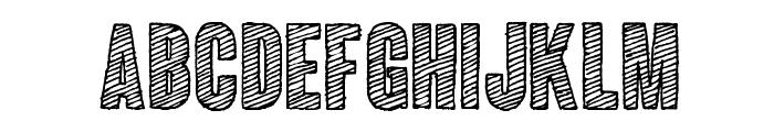 ColunaSketch-CondensedBold Font LOWERCASE