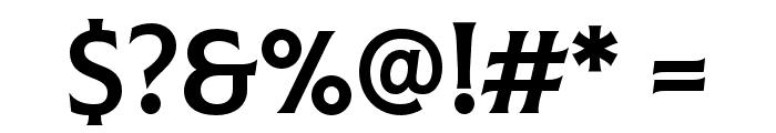 Colus Regular Font OTHER CHARS