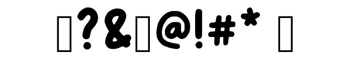 Com_com Regular Font OTHER CHARS