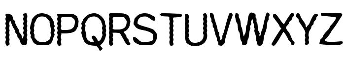 Comaprison Font UPPERCASE