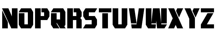 Combatron Bold Font UPPERCASE
