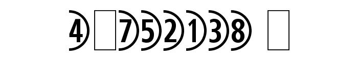 CombiNumeralsLtd Font OTHER CHARS