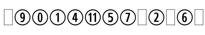 CombiNumeralsLtd Font LOWERCASE