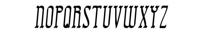 Combustion II BRK Font UPPERCASE