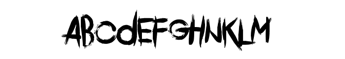 Comeback Of The Damned Font LOWERCASE