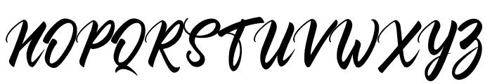 Comebro Font UPPERCASE