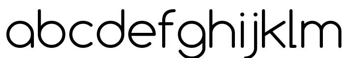 Comfortaa Light Font LOWERCASE