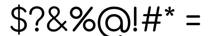 Comfortaa Regular Font OTHER CHARS