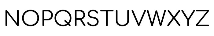 Comfortaa Regular Font UPPERCASE