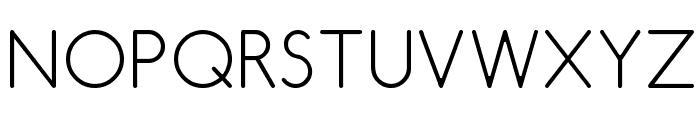 Comfortaa Thin Font UPPERCASE