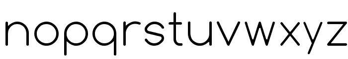 Comfortaa Thin Font LOWERCASE