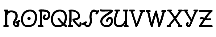 Comic Arousa Font UPPERCASE