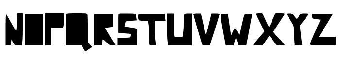 Comic Dandy Font UPPERCASE