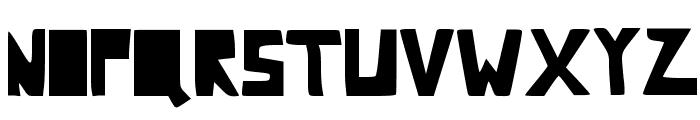 Comic Dandy Font LOWERCASE