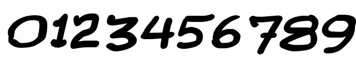 Comic Gibi Bold Italic Font OTHER CHARS