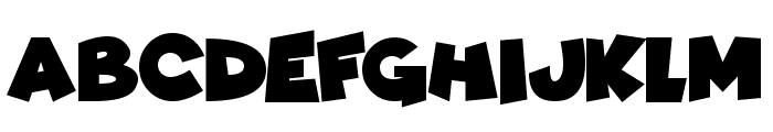 Comic Kings Font UPPERCASE