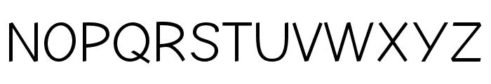 Comic Neue Angular Font UPPERCASE