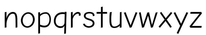 Comic Neue Angular Font LOWERCASE