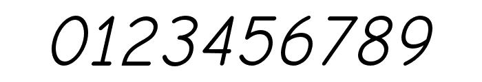 Comic Neue Oblique Font OTHER CHARS