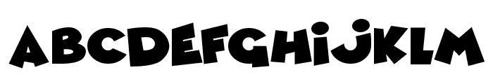 Comic Queens Font LOWERCASE