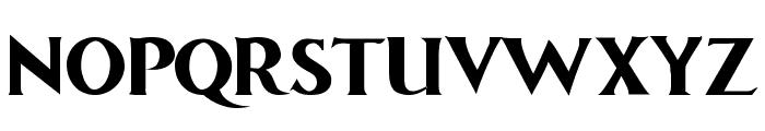 Comic Roman Bold Font UPPERCASE