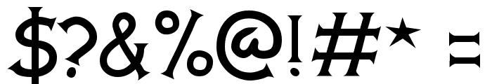 Comic Serif Font OTHER CHARS