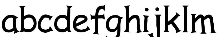 Comic Serif Font LOWERCASE