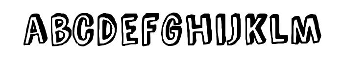 Comic Zine Font LOWERCASE