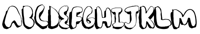ComicChub Font UPPERCASE