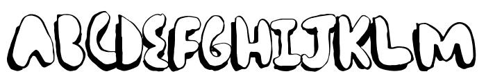 ComicChub Font LOWERCASE