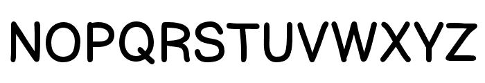 ComicHelvetic-Light Font UPPERCASE