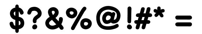 ComicHelvetic-Medium Font OTHER CHARS
