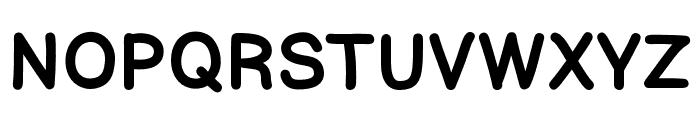 ComicHelvetic-Medium Font UPPERCASE